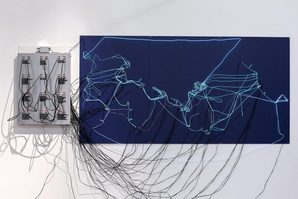 Submarine Cable Map — Anna Madeleine
