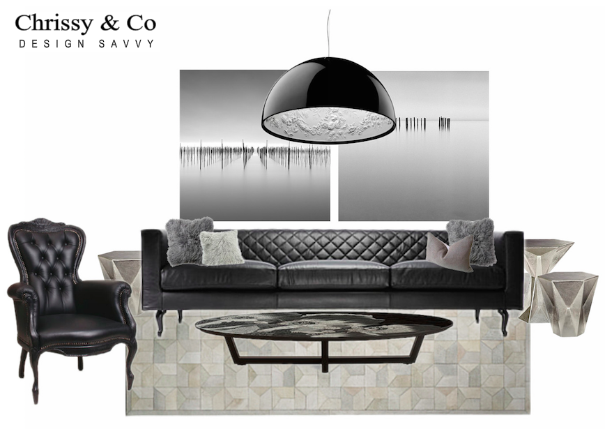 Modern Design By Interior Designer Chrissy Cottrell from Interior Design Boutique Chrissy & Co
