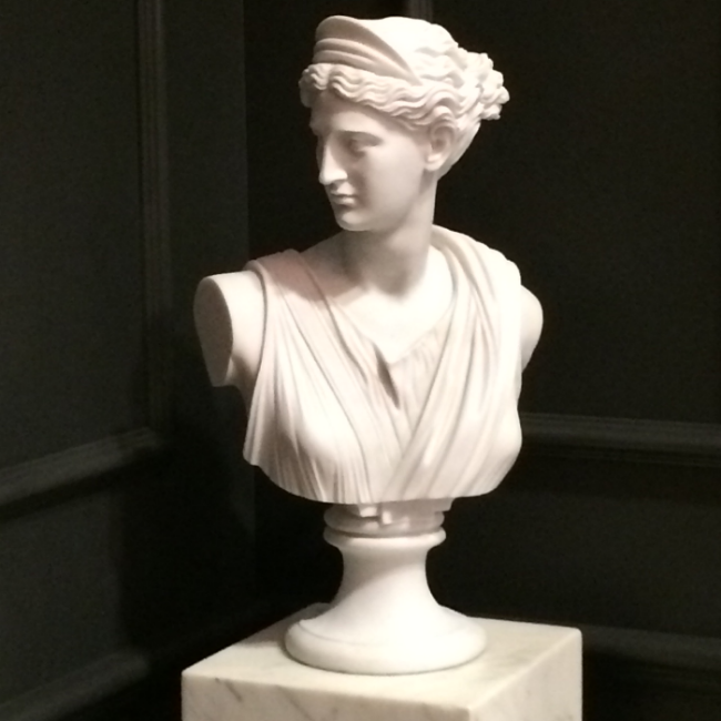 Chrissy & Co Vancouver Interior Design Marble Bust