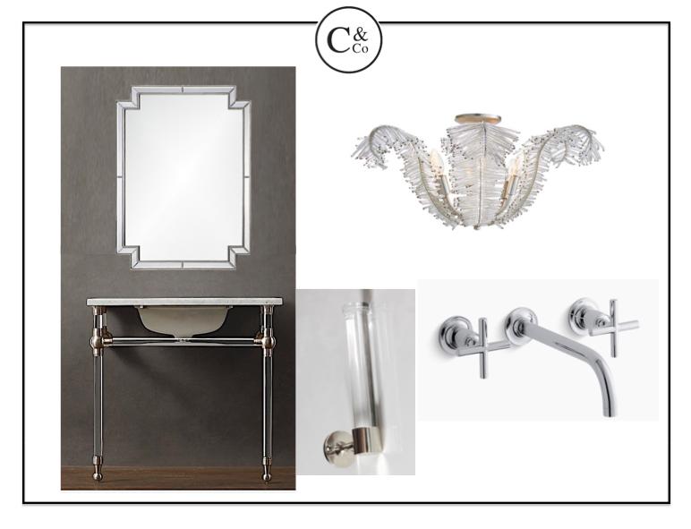 Lovely feminine design elements