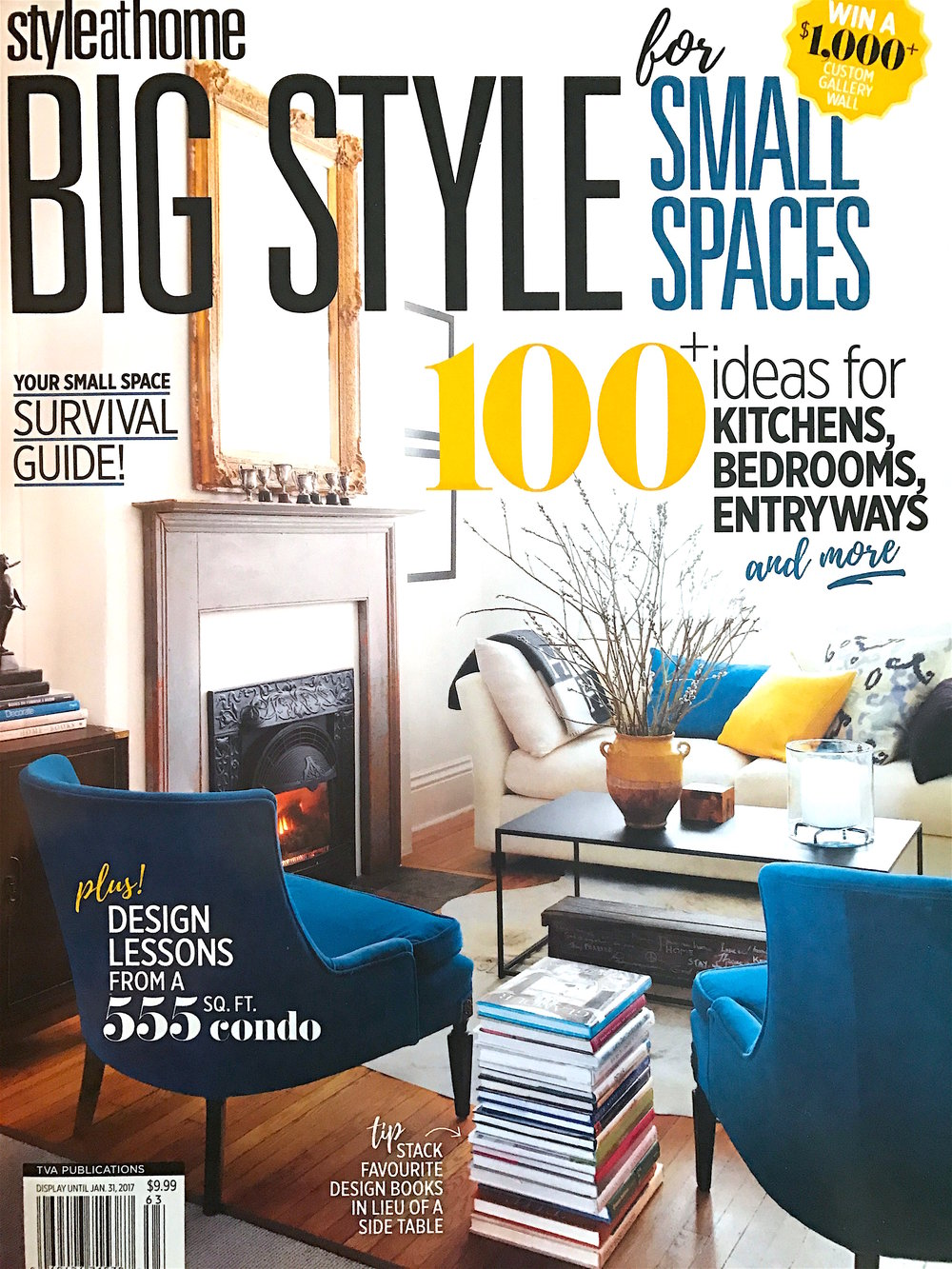 Chrissy & Co featured in Big Style For Small Spaces 2016. Design by Chrissy Cottrell owner of Curated Home Vancouver.
