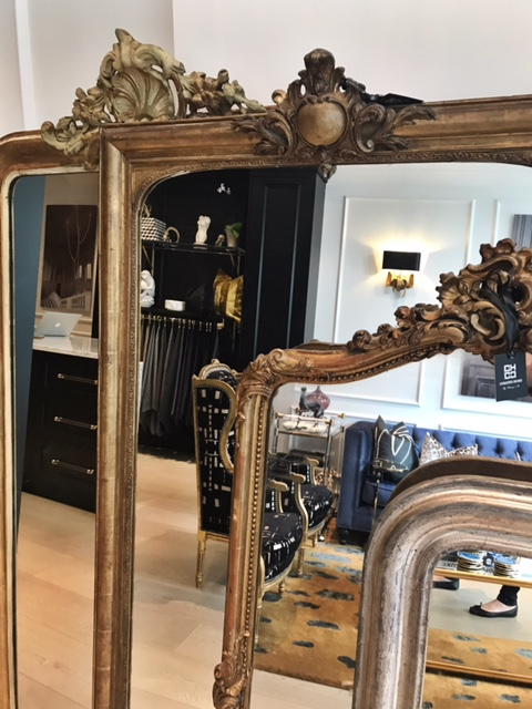 Paris Mirrors in Vancouver boutique The Curated Home By Chrissy & Co