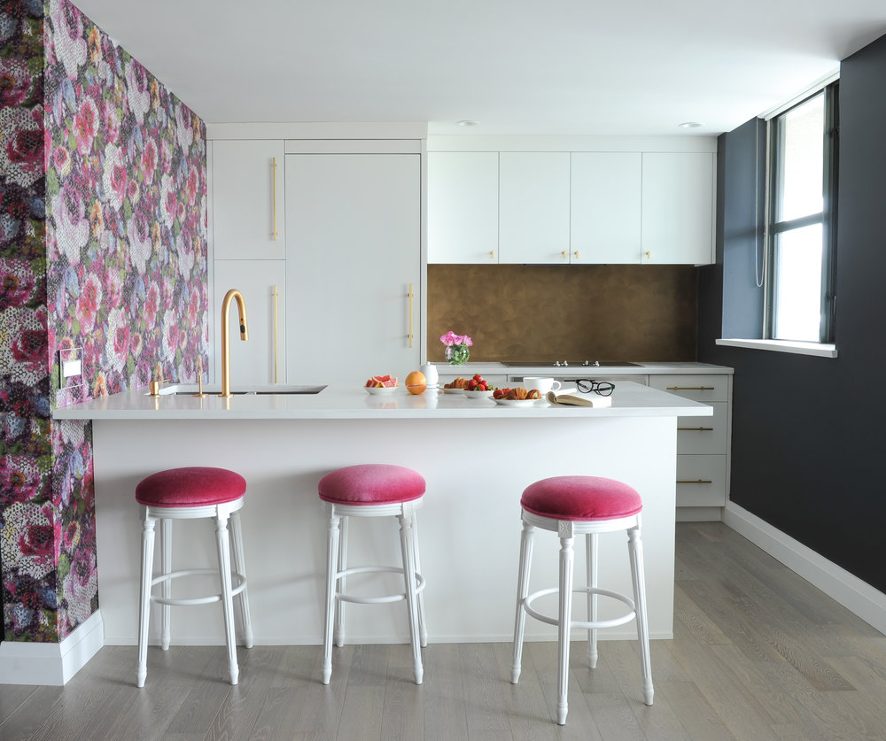 Colourful & Contemporary Kitchen Design
