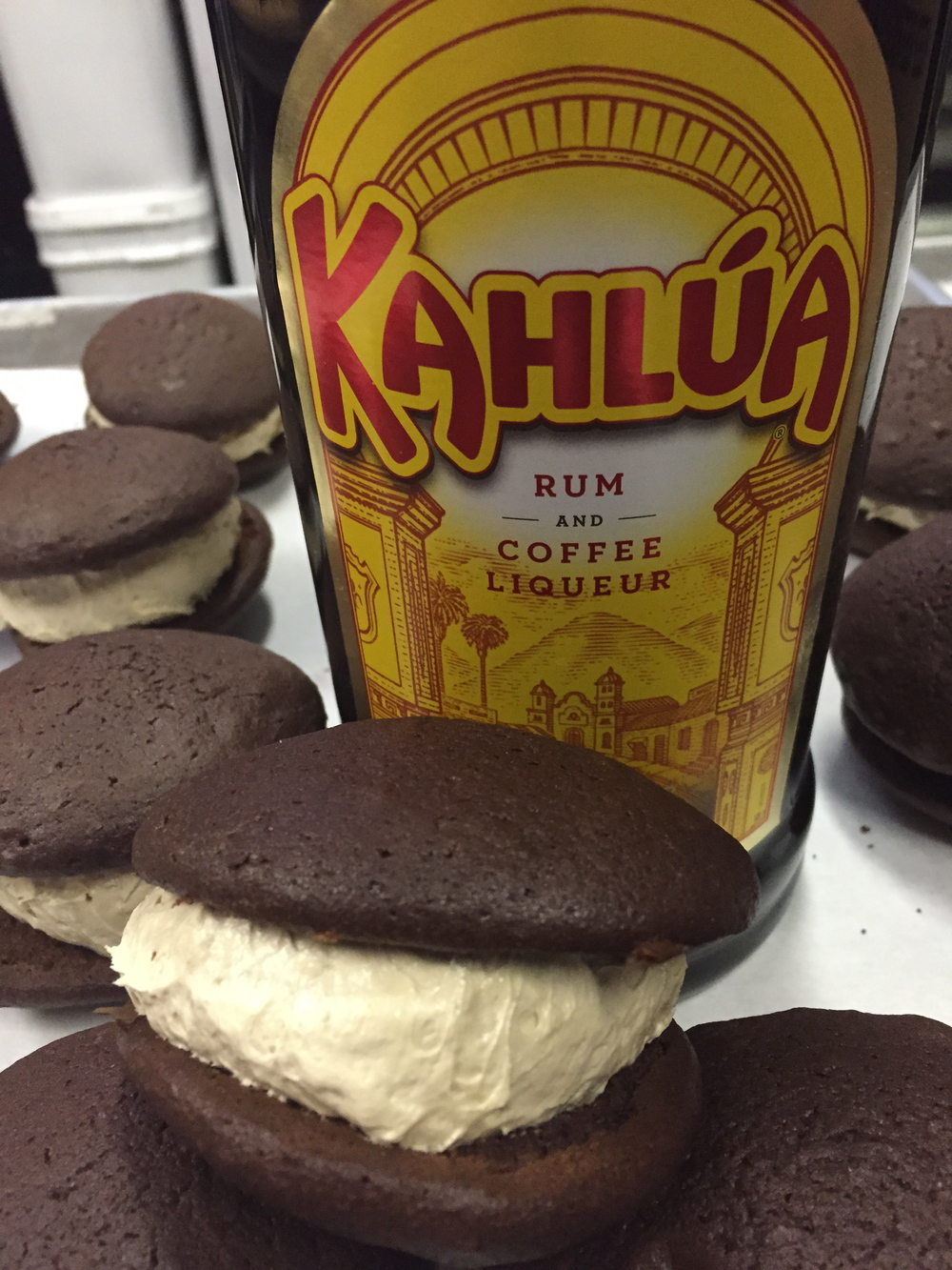 Kahlua   Chocolate cookie with Kahlua filling