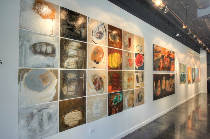 CIRCLE SERIES ON WALL.jpg