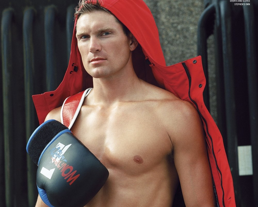 STEPHEN WONDERBOY BY BRUCE WEBER V MAGAZINE  -