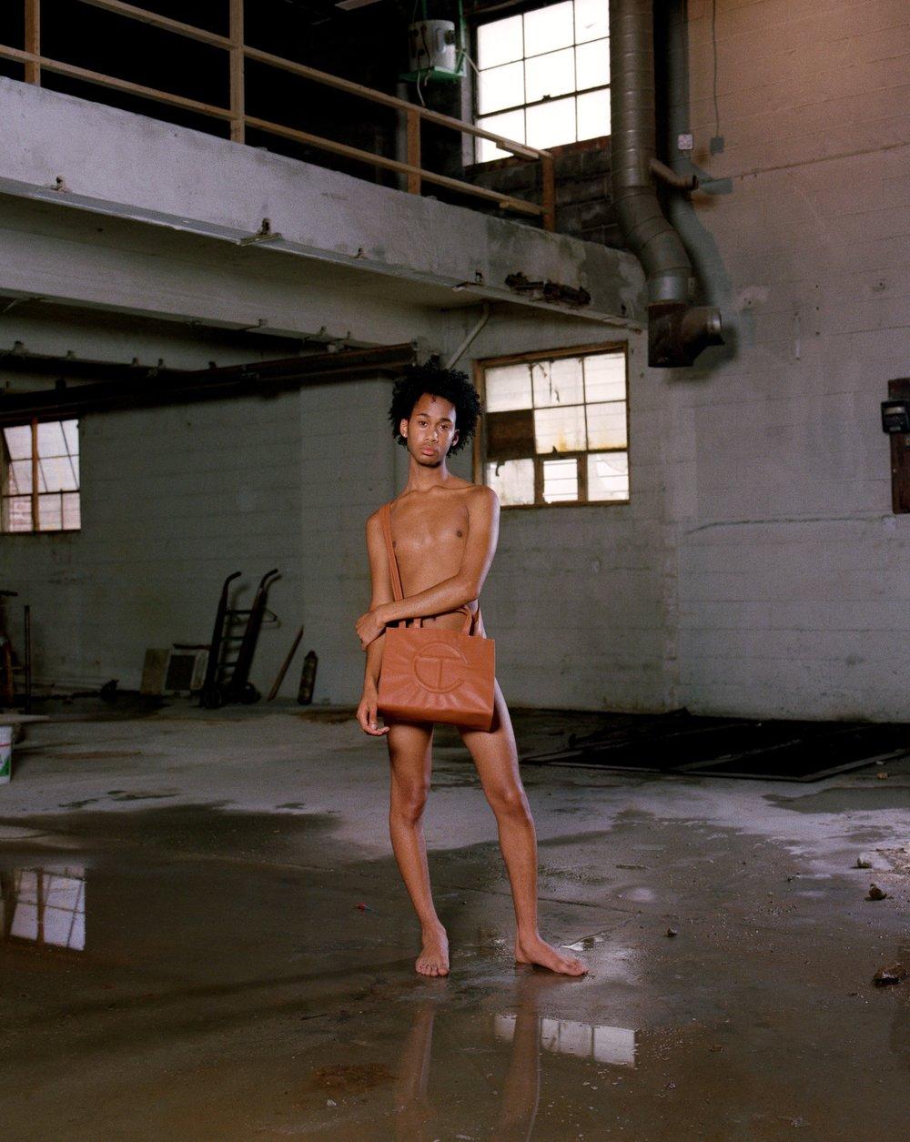 Telfar Bag Campaign - June Canedo