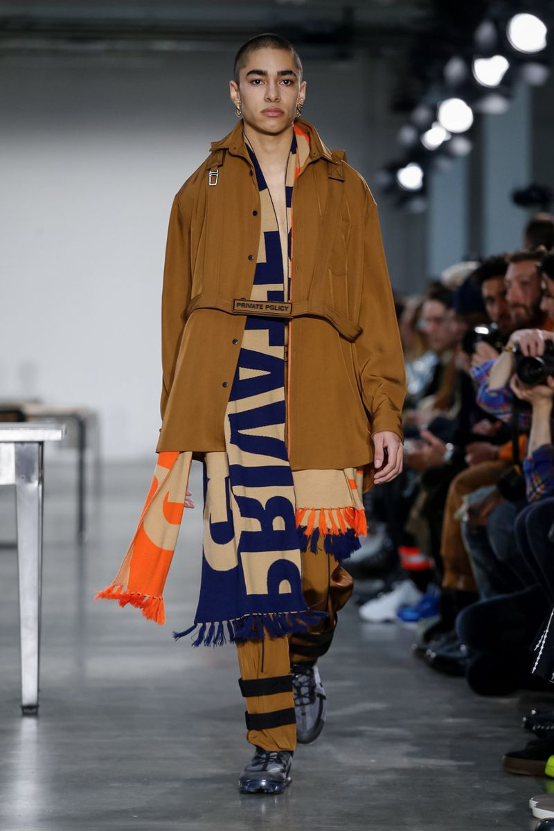 Private Policy AW18