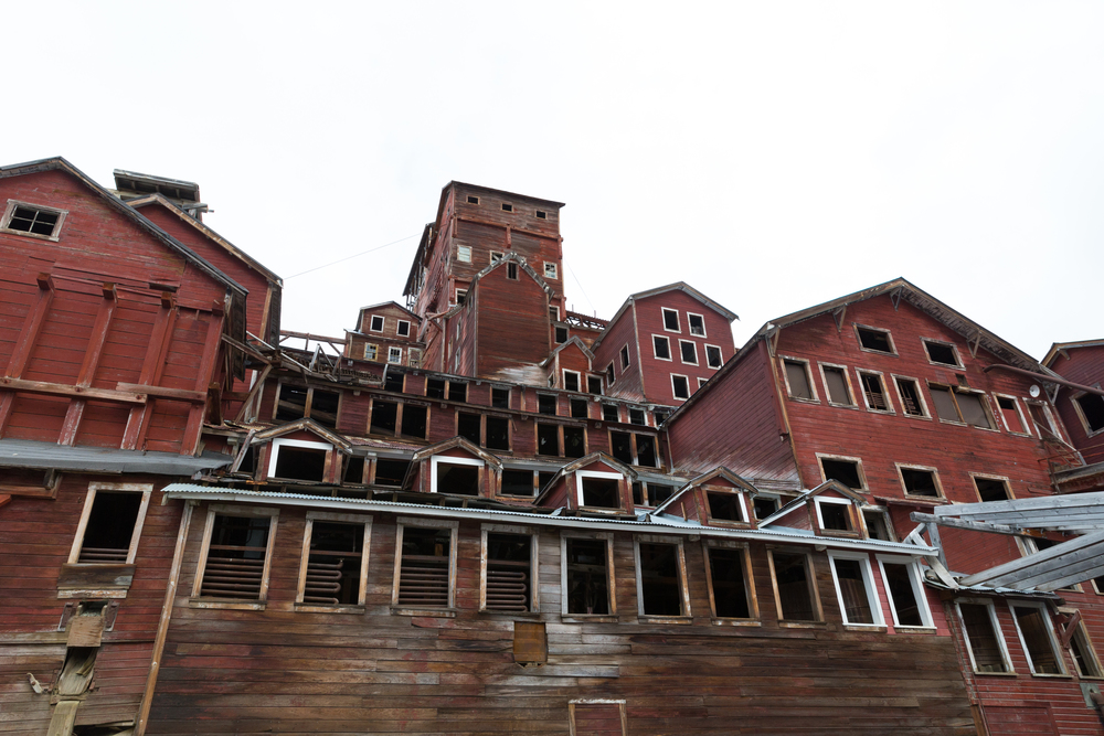 Kennicott Mill, Alaska