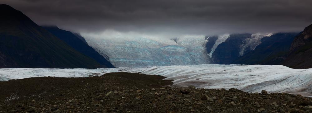 Ice Wall, Root Glacier, Alaska