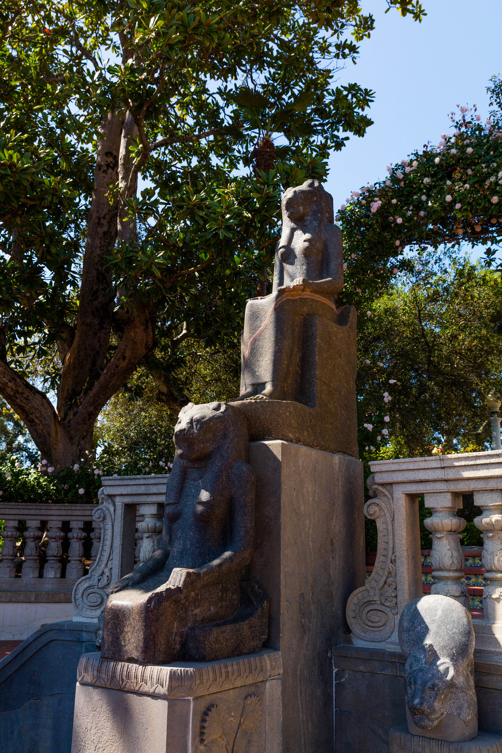 Ancient Egyptian Sculpture, Hearst Castle