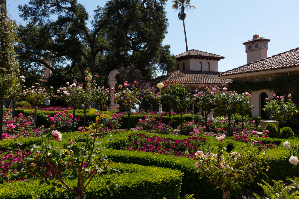 The Gardens, Hearst Castle