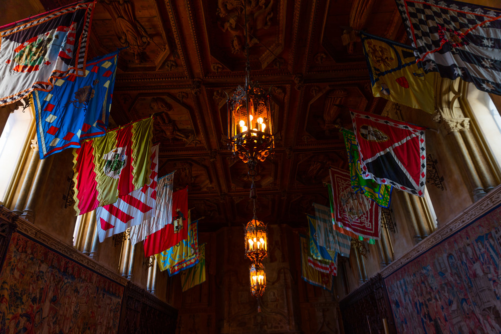 Main Dining Room, Casa Grande,   Hearst Castle