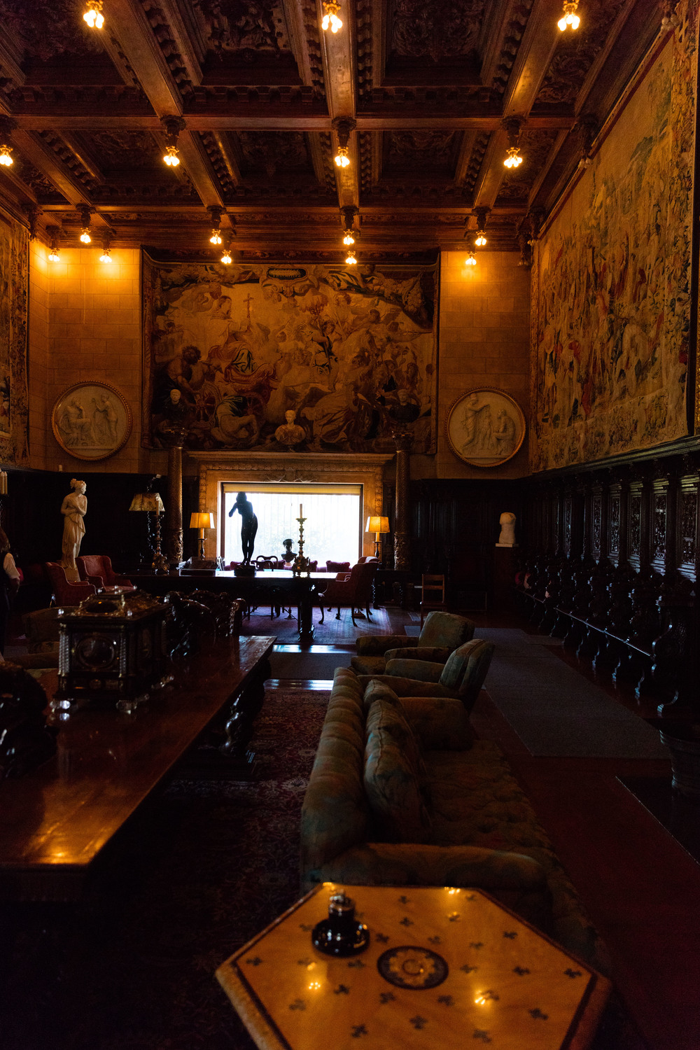 Social Rooms, Casa Grande, Hearst Castle