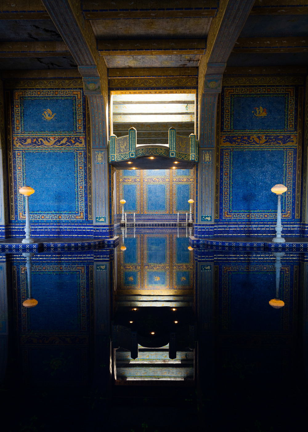 Roman Pool, Hearst Castle