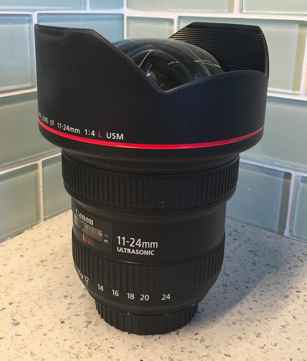CanonEF 11-24mm f/4L USM Lens