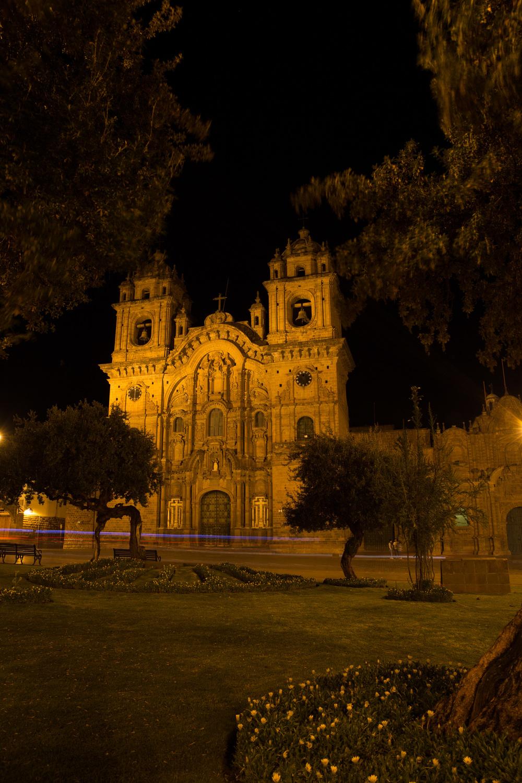 Templo de la Compañía de Jesús, Cusco, Peru
