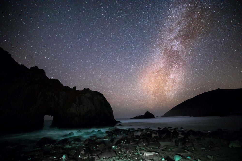 Milky Way, Big Sur