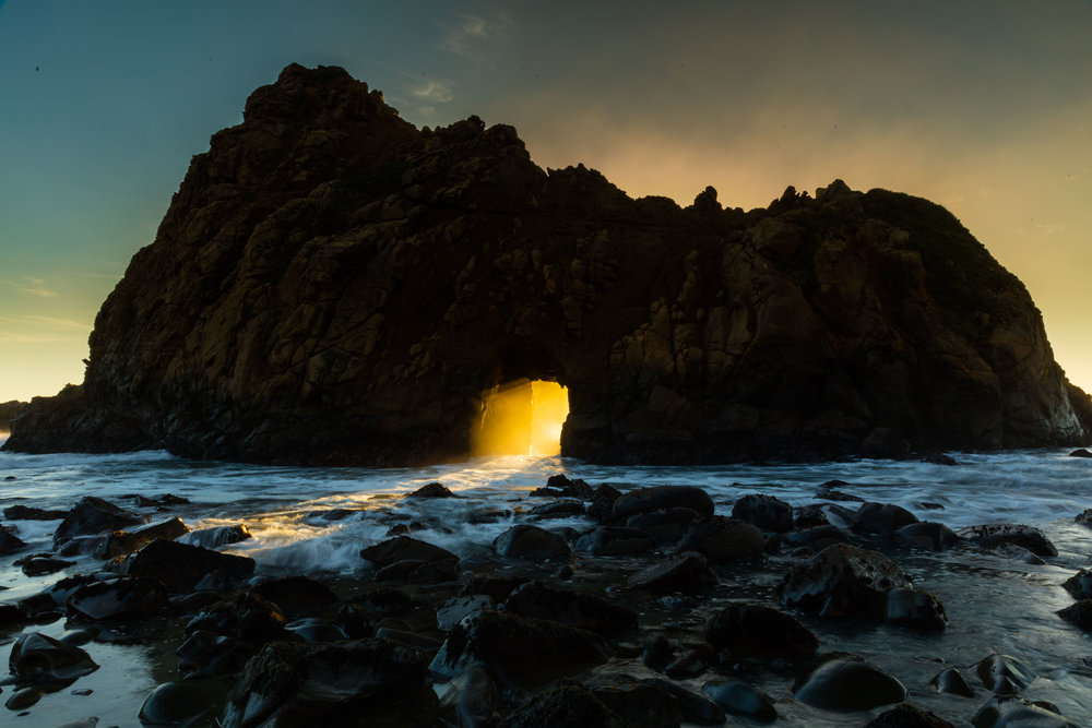 Key Hole, Big Sur