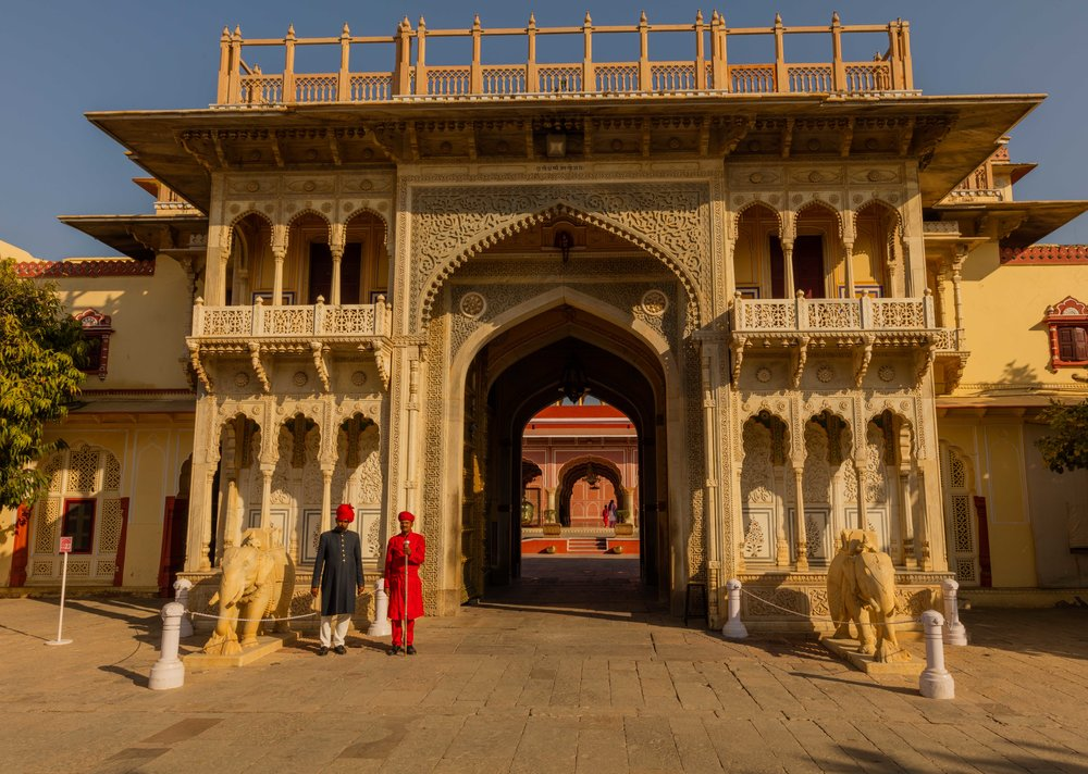 Entrance Gate, City Palace, Jaipur