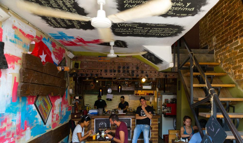 Los Chanchelleros, Havana, Cuba