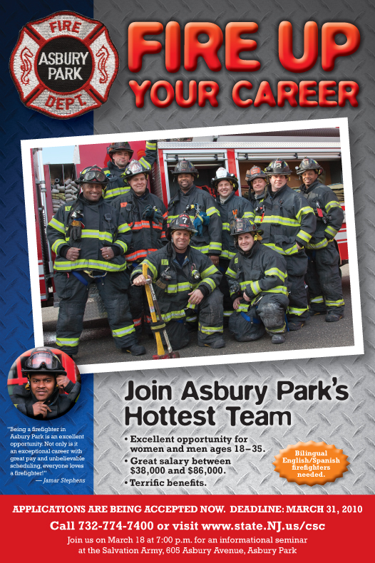 Asbury Park Fire Department Ad