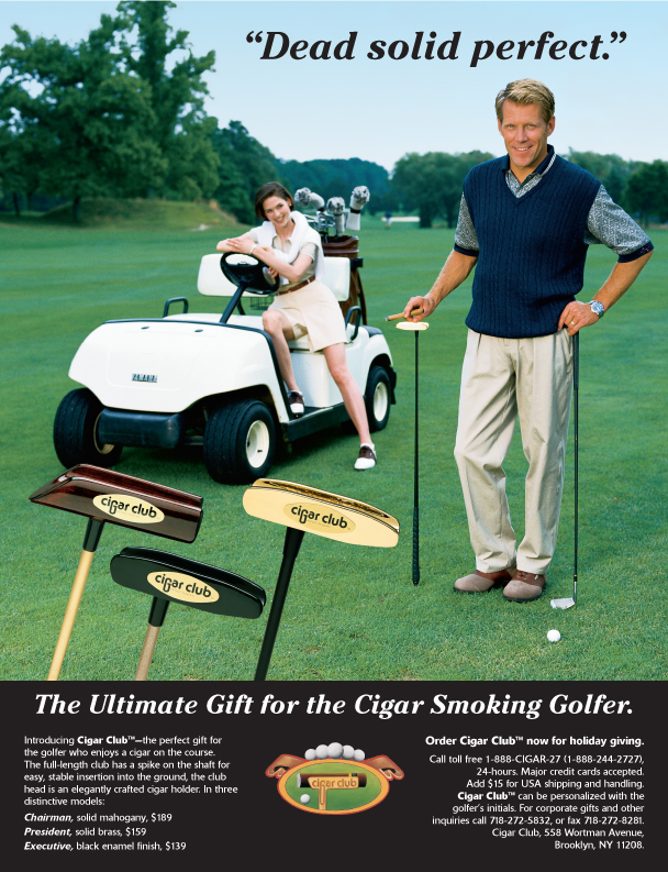 Cigar Club Ad
