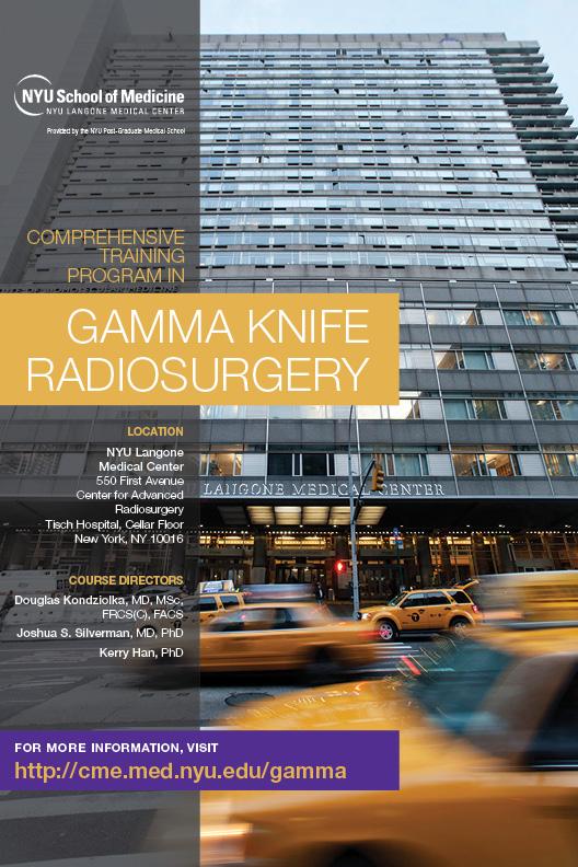 Gamma Knife Radiosurgery Brochure Cover