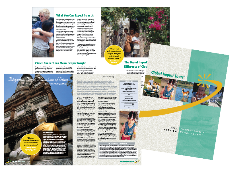 Global Impact Tours Catalog