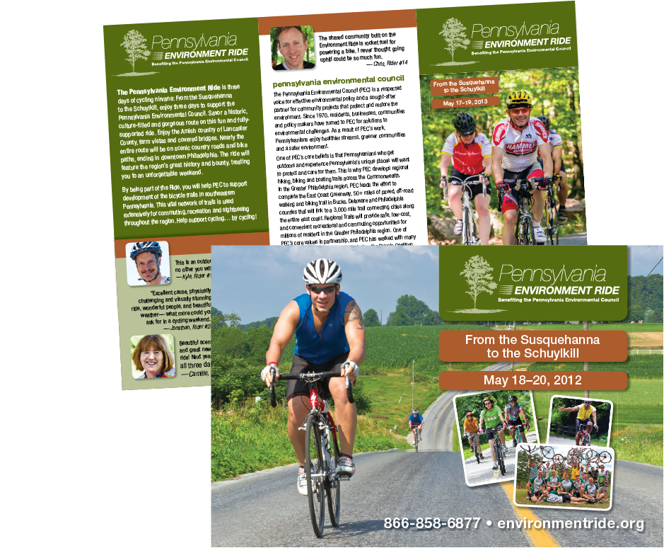 Collateral for the Pennsylvania Environment Ride