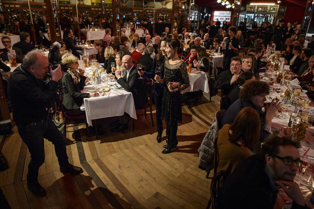 Gala Dinner in honor of  Final Recipe  hosted by Berlin International Film Festival  Photo taken by Piero Chussi provided by Berlin International Film Festival