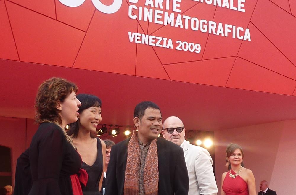 2009년 베니스 국제 영화제 심사위원 레드카펫