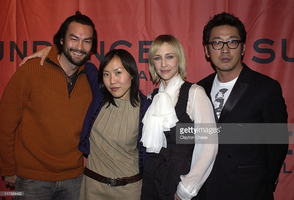 Sundance Film Festival with cast of  Never Forever