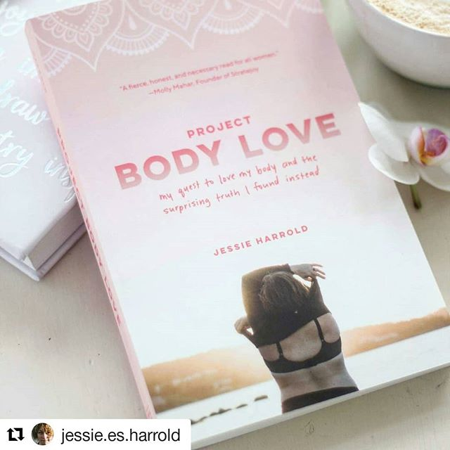 "* All bodies are worthy of space, respect and self care. * . Check out this inspiring book that Emily bought for her birthday! .    #Repost @jessie.es.harrold (@get_repost) ・・・ I was listening to the @she_explores podcast the other day and something @cherylstrayed said stopped me in my tracks: ""I write to tell the truth about my life, and then what happens is that people feel like I've told the truth about theirs, and that's the magic gift I was given."" I wrote Project Body Love for myself, as a part of my own healing process, but I also always knew that it would make its way into the big wide world somehow.  I wondered, though, if it was *just* my story.  If it mattered to anyone but me.  I was even told by an agent that because body image is a struggle for the vast majority of women, my story would be unremarkable and thus unpublishable because I was not an ""expert"" or a fat activist with hundreds of thousands of followers.  Rather than being defeating, that rejection letter felt like a Call To Action.  Because this:  I noticed that the minute I was able to say, without shame, ""I am fat and I accept my body,"" a flood of resources in the form of community, books, research and role models made themselves known, giving me confidence and a sense of feeling less alone.  I was well-resourced, just like the many amazing activists and writers and models in the body positive community.  Being well-resourced gave me more privilege, as a fat person navigating the world.  But I didn't start writing this book as that woman.  And I decidedly didn't write this book FOR those women.  I wrote this book for the women who are still living in shame.  Still denying themselves the basic human rights of love and care and food and comfortable clothing because they don't feel they deserve it.  Everywoman, I am calling out to you, as ""just another woman"" and saying You Are Okay.  Your NowBody is Okay.  I see you.  Already, the resonance of this book is reverberating, and I am receiving daily emails and social media messages from women just wanting to say Me Too.  This is my story, and it's also yours.  That's the magic of it.  Sending you and your bodies all kinds of love today."