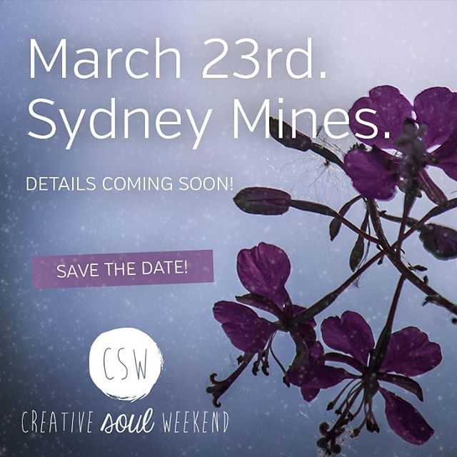 ✨ We've got some magic in the works for you! . 📅 Mark your calendars for March 23rd. . 🙌 More details on our first ever Mini Creative Soul Weekend are coming soon!