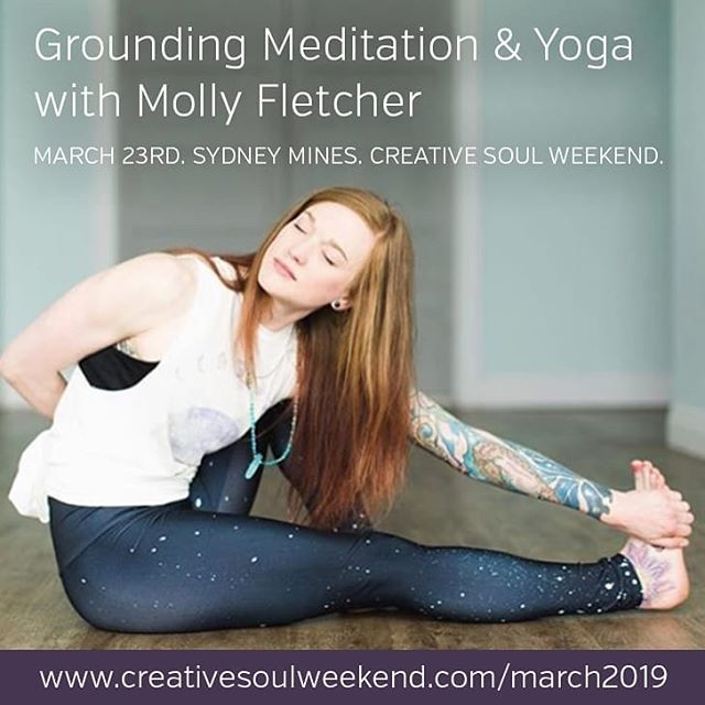 We're thrilled to have @mollyfletcheryoga leading a yoga session during our first Mini CSW! Her class will revolve around awareness of the body-breathe connection. A grounding arrival meditation to centre the mind, body, and breath will be followed with a gentle flow through various Asanas (postures). These postures naturally stretch the muscles and open the joints of the body, while simultaneously providing vital Prana (energy) throughout the body, mind, & Spirit. . ✨ MEET MOLLY: 👋➡ Molly's journey into Yoga began 13 years ago, at the age of sixteen. Over the years, her practice and connection to Yoga grew deeper, and in 2014/15 she completed her 200 hour Foundational Teacher Training under the wise instruction of Yogacharya Vineeta Sharma. Teacher Training was rooted in the Traditional Philosophies of Yoga - the Bhagvhad Gita, The Eight Limbs (Astanga Yoga), and the Yoga Sutras of Patanjali - and provided Molly a solid foundation to instruct Yoga with the utmost integrity, and respect for her students. . The quiet peace and comfort found in moving meditation is a gift she feels compelled to share with as many willing souls as possible. Her classes combine slow, focused flow of movement and breath, fostering a deep connection to the wisdom of the body, and gently quieting the mind. . She has taught people from all walks of life, between the ages of 5 & 75, at music festivals, corporate conferences, in private sessions and group workshops. Her classes are very accessible to first-time Yoga practitioners, but also offer enough challenge for the advanced. A both dynamic and static flow, designed to align the flow of energy smoothly along the spine will leave you feeling relaxed, rejuvenated, and more in-tune with your body and soul.