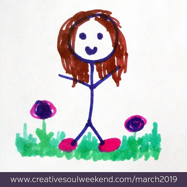 "For anyone thinking that Creative Soul Weekend isn't for you because you aren't artistic - consider this your friendly reminder that being creative does not mean you need to be artistic! . Creativity is defined as ""the ability or power to create"". You can create something, we know it! You can create a meal. You can create change. You can create memories with your friends and family. And we have faith that you can create a stick person drawing if you really are stuck on this artistic thing ;) . So please remember you are so welcomed at Creative Soul Weekend, just as you are. . 5 Days left before the Mini CSW! www.creativesoulweekend.com/march2019"