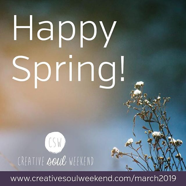 It's the first day of SPRING! 💐 . Happy Spring Equinox Everyone! And Happy Full Moon! . The days are getting longer and the sun is coming to melt all the snow away. Anyone else celebrating by opening all the windows in the house to let some fresh air in? We're loving all the vibes of renewal and fresh starts. Here's to coming out of the dark with the light of Spring and tonight's full moon! 🌕