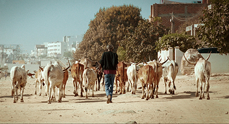 Still from A Thousand Suns (Mati Diop, 2013). Courtesy of the artist.