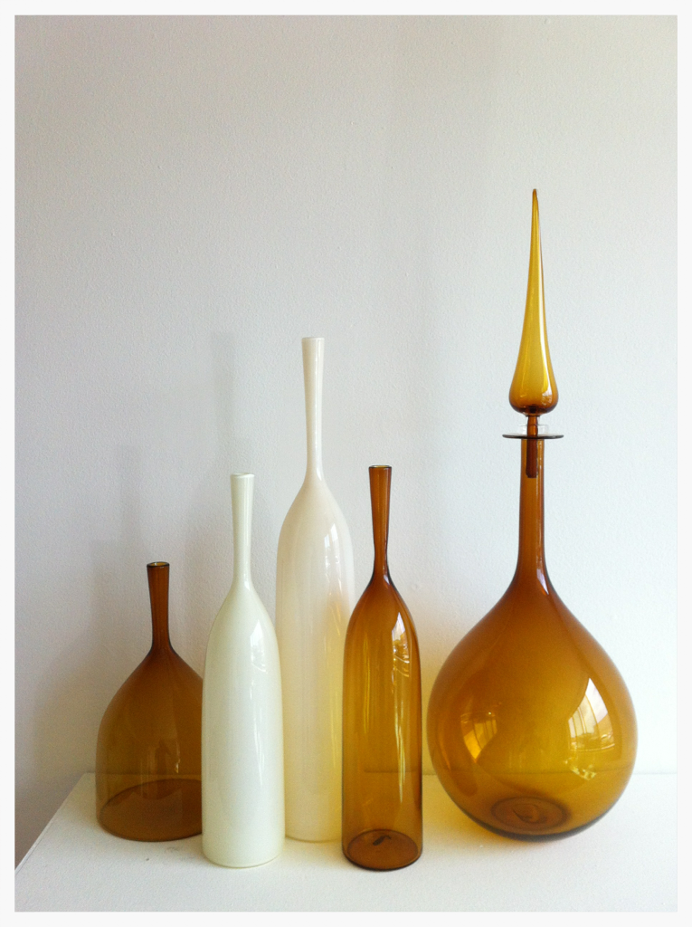 Hand Blown Glass Vessels