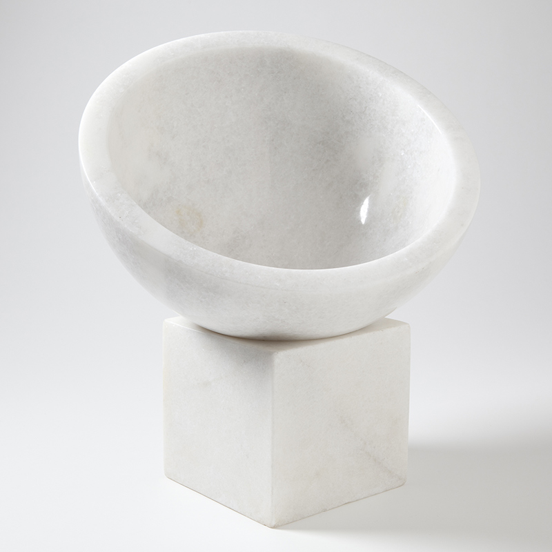 Standing Marble Bowl