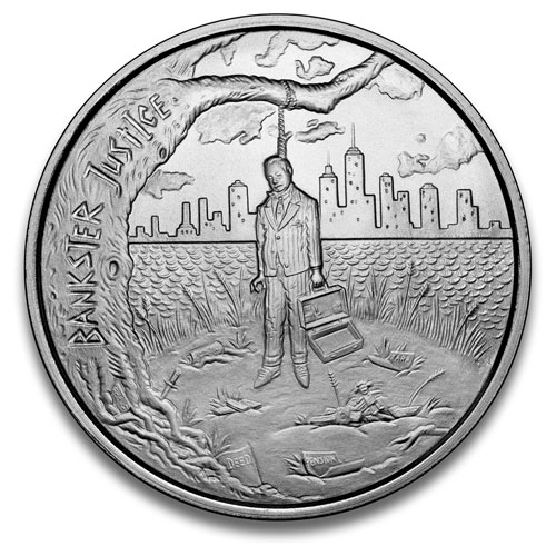 2015 Bankster Justice - Crescent City Silver