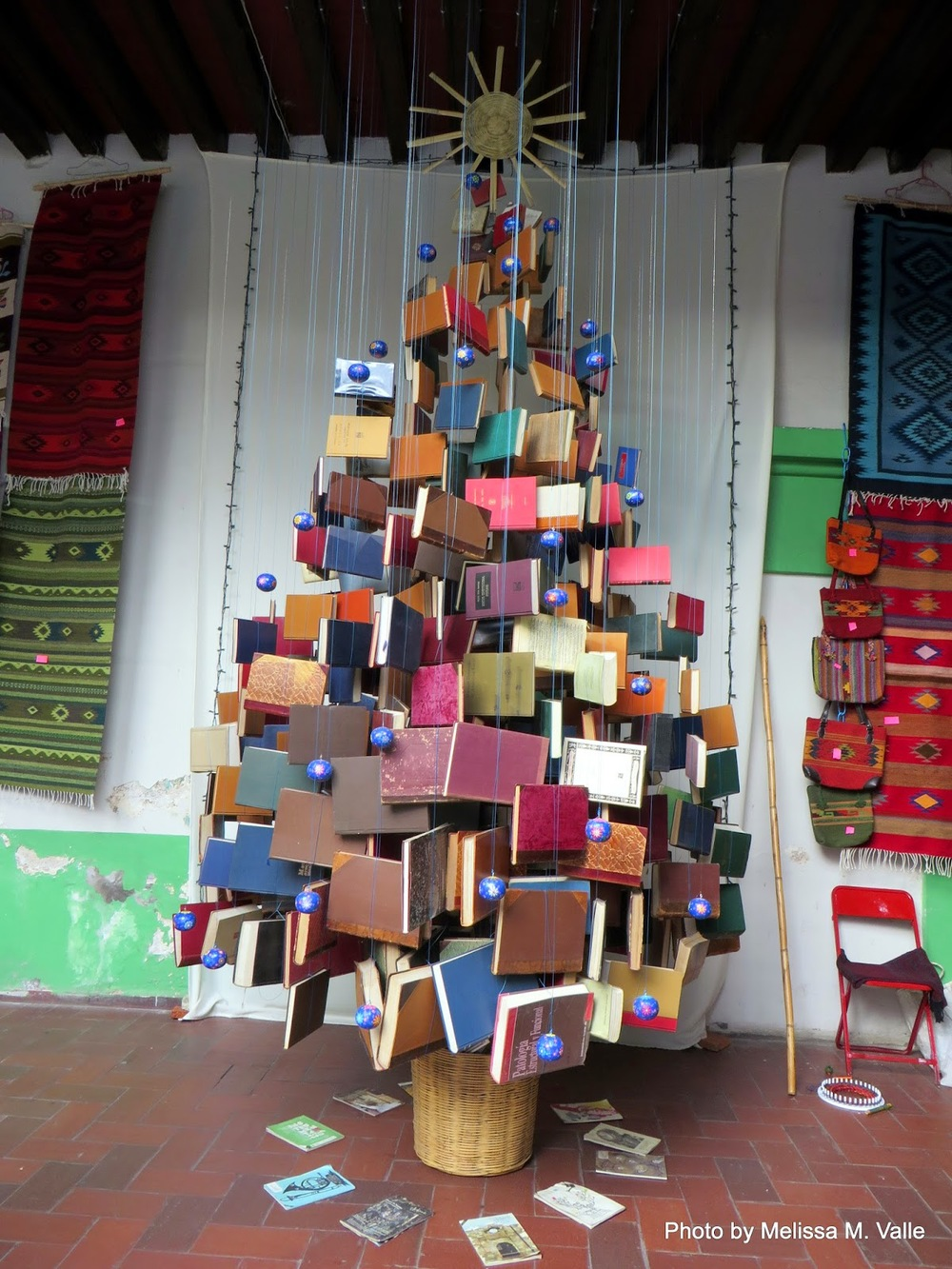 Book tree I peeped inside artisan space near cafe