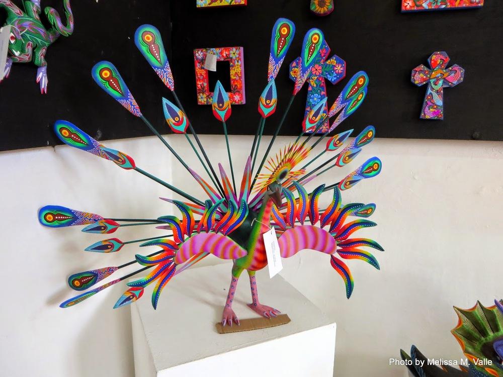 Famous Alebrijes craft from Oaxaca