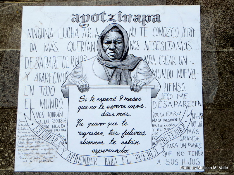 ayotzinapa signs DF