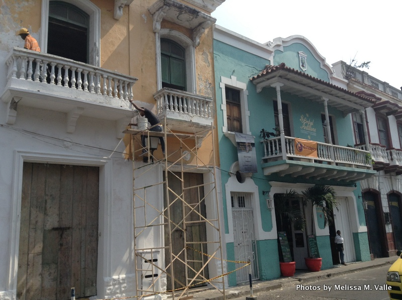 Redevelopment on Calle Media Luna in Cartagena