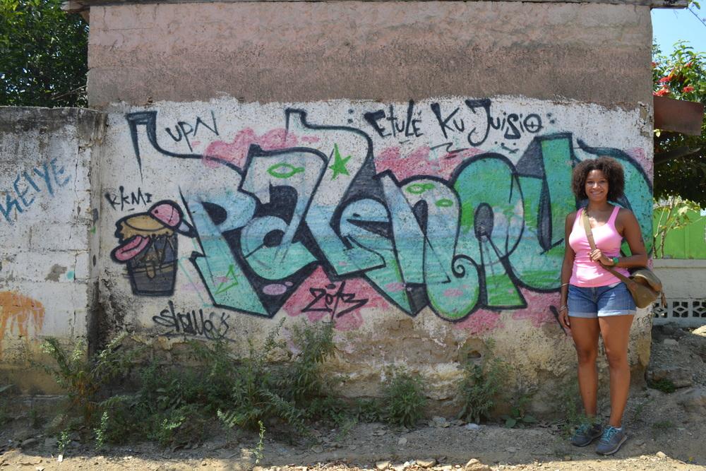 Me in Palenque de San Basilio