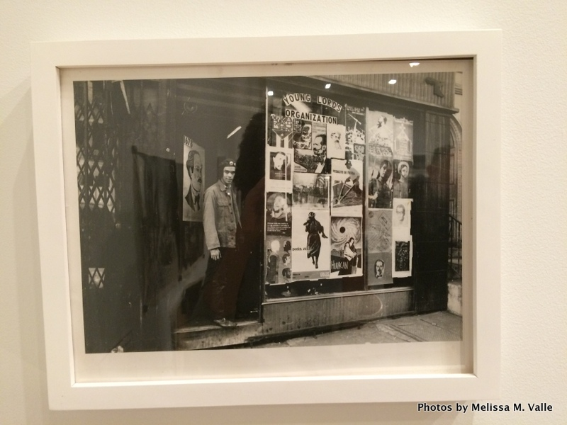 Hiram Maristany's photo of window of Young Lords Party's office