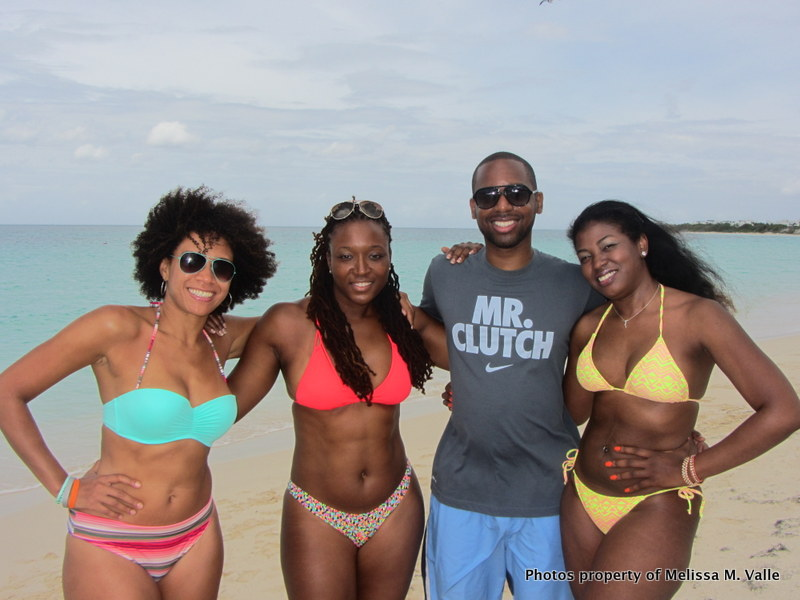 5.24.14 Omar Hamilton's travelfamily beach party in Anguilla — with Melissa Horn and Tamar S. Hylton at Beach Bar at Anguilla Great House Beach Resort (10).JPG