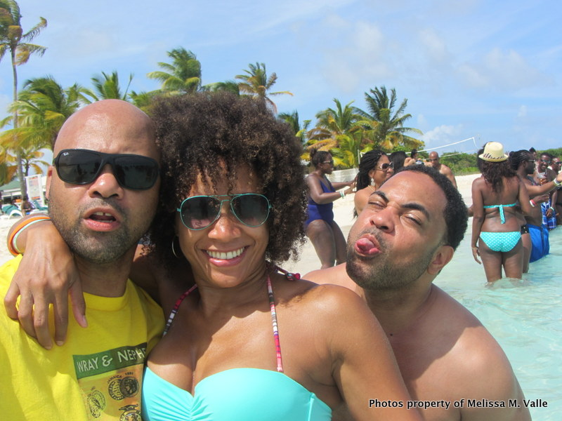 5.24.14 Omar Hamilton's travelfamily beach party in Anguilla — with Melissa Horn and Tamar S. Hylton at Beach Bar at Anguilla Great House Beach Resort (63).JPG